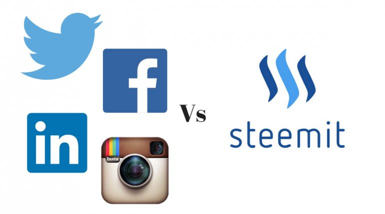 Steemit vs Facebook